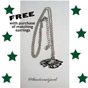 💚🏈Philadelphia Eagles Fashion Jewelry Necklace🏈